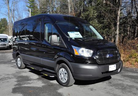 parked black van